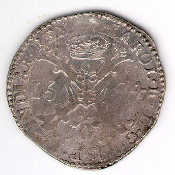 Patagonas. 1694 m. Ispanijos Nyderlandai. Brabanto provincija. Karlas II (1665 - 1700)