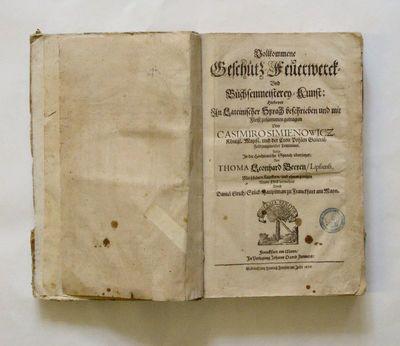 Knyga. Ausfuhrliche Beshreibung der grossen Feurwerks – oder Artillerie – Kunst. 1676