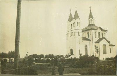 Akademijos bažnyčia pašventinimo dieną