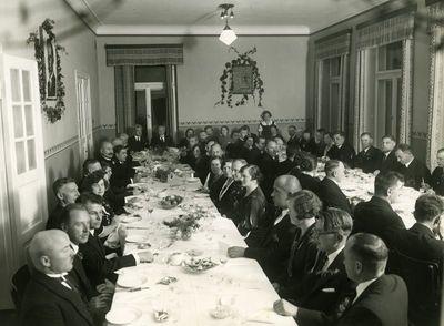 Žemės ūkio akademijos dešimtmečio šventė. Vaišės