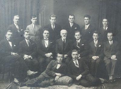Žemės ūkio akademijos 1928 m. miskininkų laida