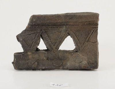 Koklio-karūnėlės fragmentas