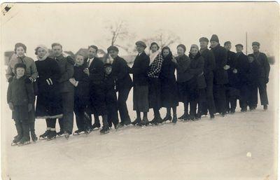 Anykštėnai čiuožykloje