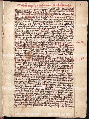 Utrum corpus christi in sacramento sit adorandum quod sic