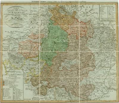 INTERIMS-CHARTE vom Frieden von Tilsit, den 9 July 1807, bis zum allgemeinen Friede von Europa