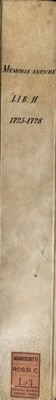 Memorie pistoiesi, Lib. II, 1725-1728