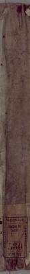 Rubrica dei dazi che devono pagare i vari generi all'uscita della gabella di Firenze