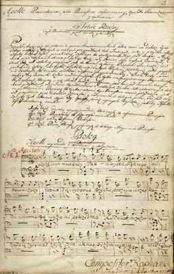 Apollo Prawodawca, albo Parnassus reformowany, Operetta złozona z rozmow y spiewania