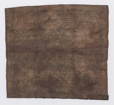 Kaupmálabréf, 1. nóvember 1630