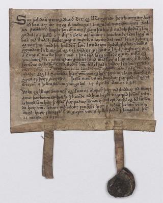 Vitnisburður, 23. mars 1639