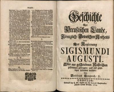 Geschichte der Preußischen Lande königlisch-polnischen Antheils..., t. 2
