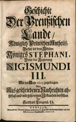 Geschichte der Preußischen Lande königlisch-polnischen Antheils..., t. 4