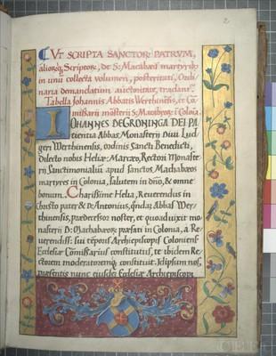 Köln, Dombibliothek, Codex 271.