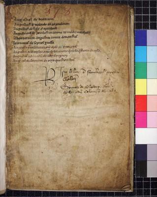 Köln, Dombibliothek, Codex 77.