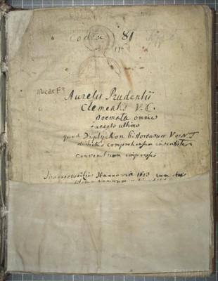 Köln, Dombibliothek, Codex 81.