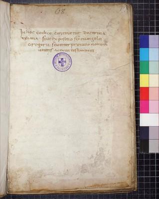 Köln, Dombibliothek, Codex 85.