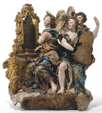 Anjos músicos (trio)