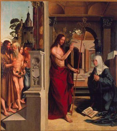 Aparição de Cristo à Virgem