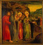 S. João Evangelista e as Santas Mulheres depois do enterro de Cristo