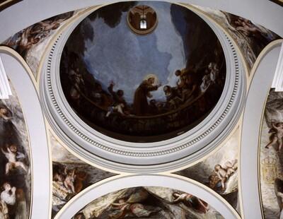 Frescos de la ermita de San Antonio de la Florida. Las Pechinas 2
