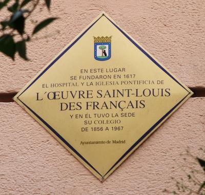 L´Oeuvre Saint-Louis Des Français.