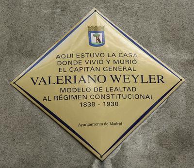 Valeriano Weyler Nicolau