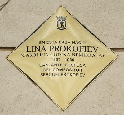 Carolina Prokófiev (Lina Codina)