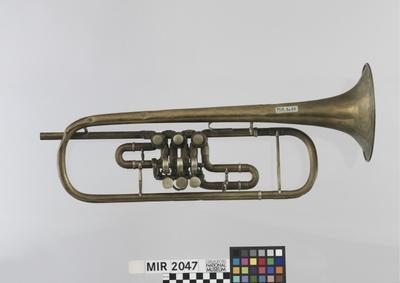 Trompete in B, 3 Drehventile