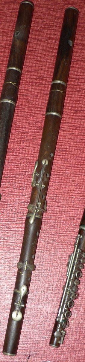 Flûte traversière en ré