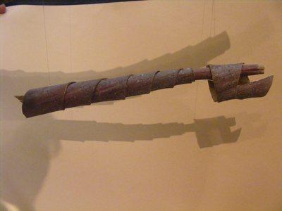 Hautbois d'écorce (appelé corne en Corrèze)