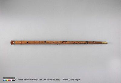 Canne-flûte (flûte traversière)