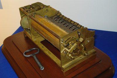 Carillon de pendule à musique Louis XV