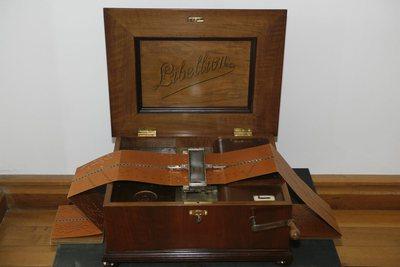 Boîte à musique à cartons Libellion