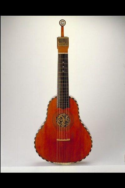 Cistre ou Guitare allemande
