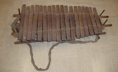 Balafon sur cadre Tembo 18 lames