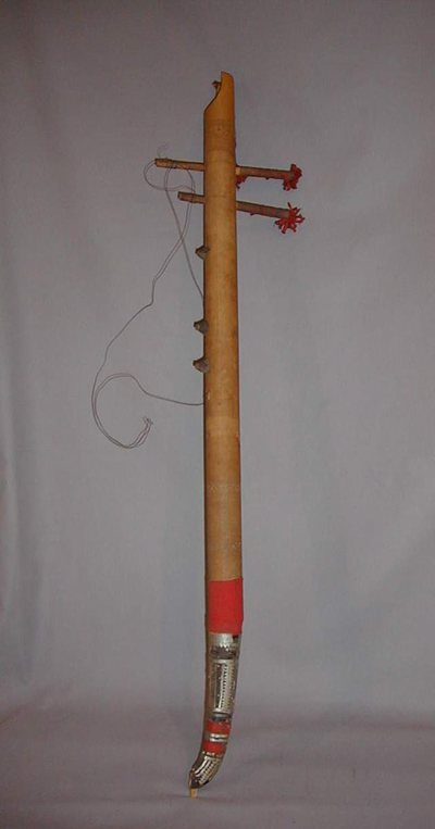 Cithare-bâton (fragment)