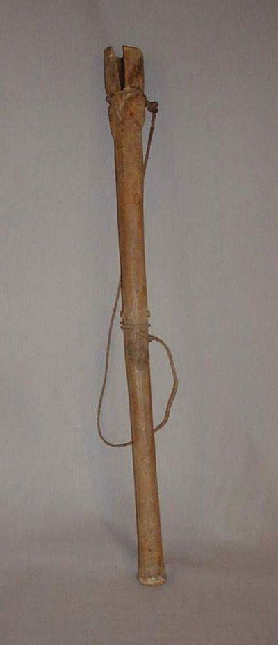Trompe traversière en bois Komo Buru
