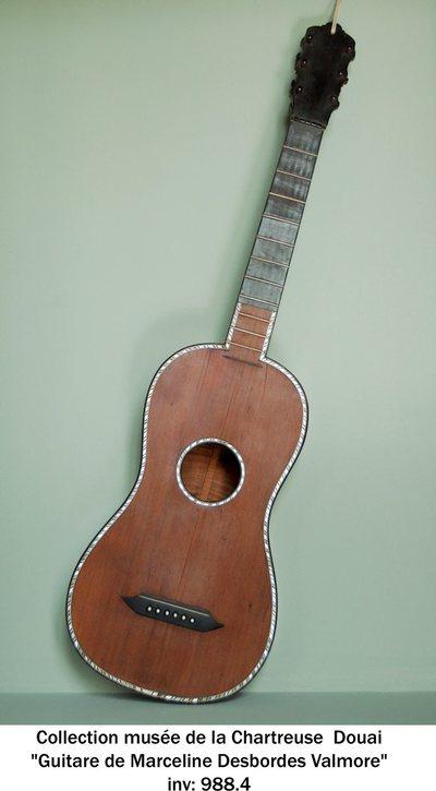 Guitare de Marceline Desbordes-Valmore
