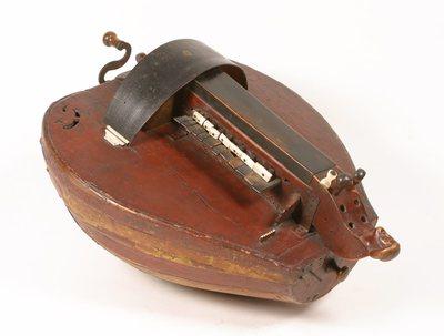 Vielle à roue forme luth (basse de)