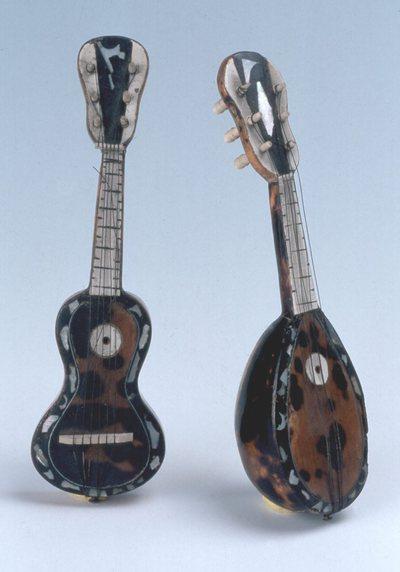 Mandoline et guitare (miniature)
