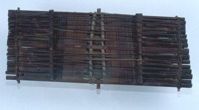 Cithare-radeau végétale Pendga