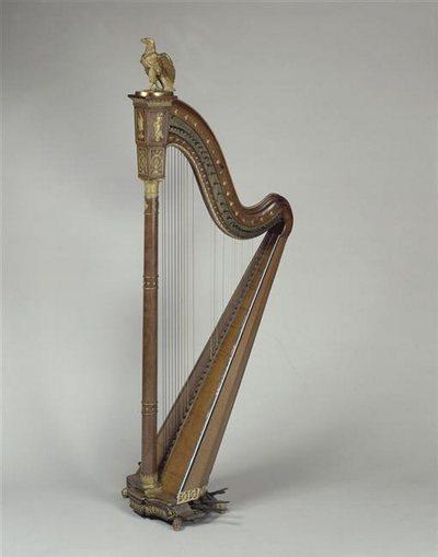 Harpe de l'impératrice Joséphine