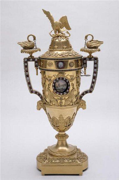 Pendule en forme d'urne