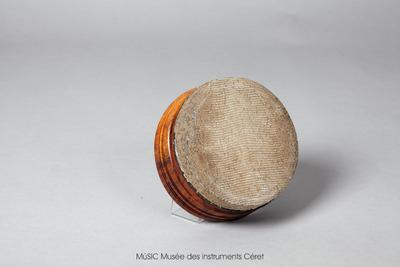 Kanjira, tambour sur cadre en peau de poisson