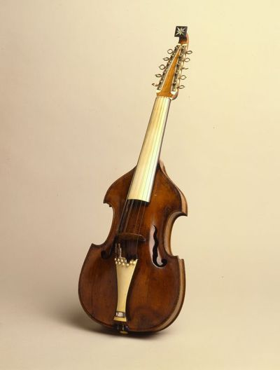Cither viol