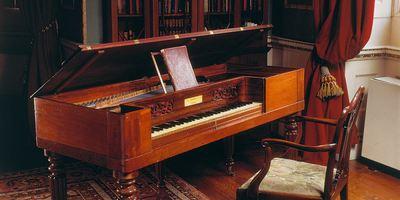 Elgar's piano
