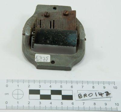 Musical box mechanism