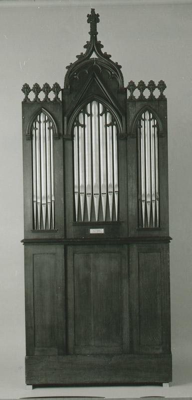 Church barrel organ