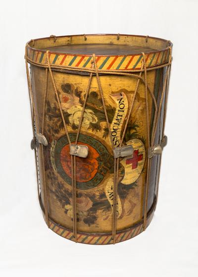 Military bass long drum