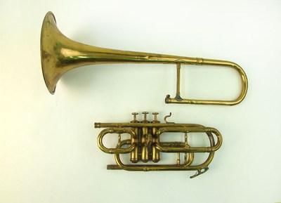 Tenor valve trombone in B flat